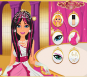 Hra Barbie Princess Hairstyle